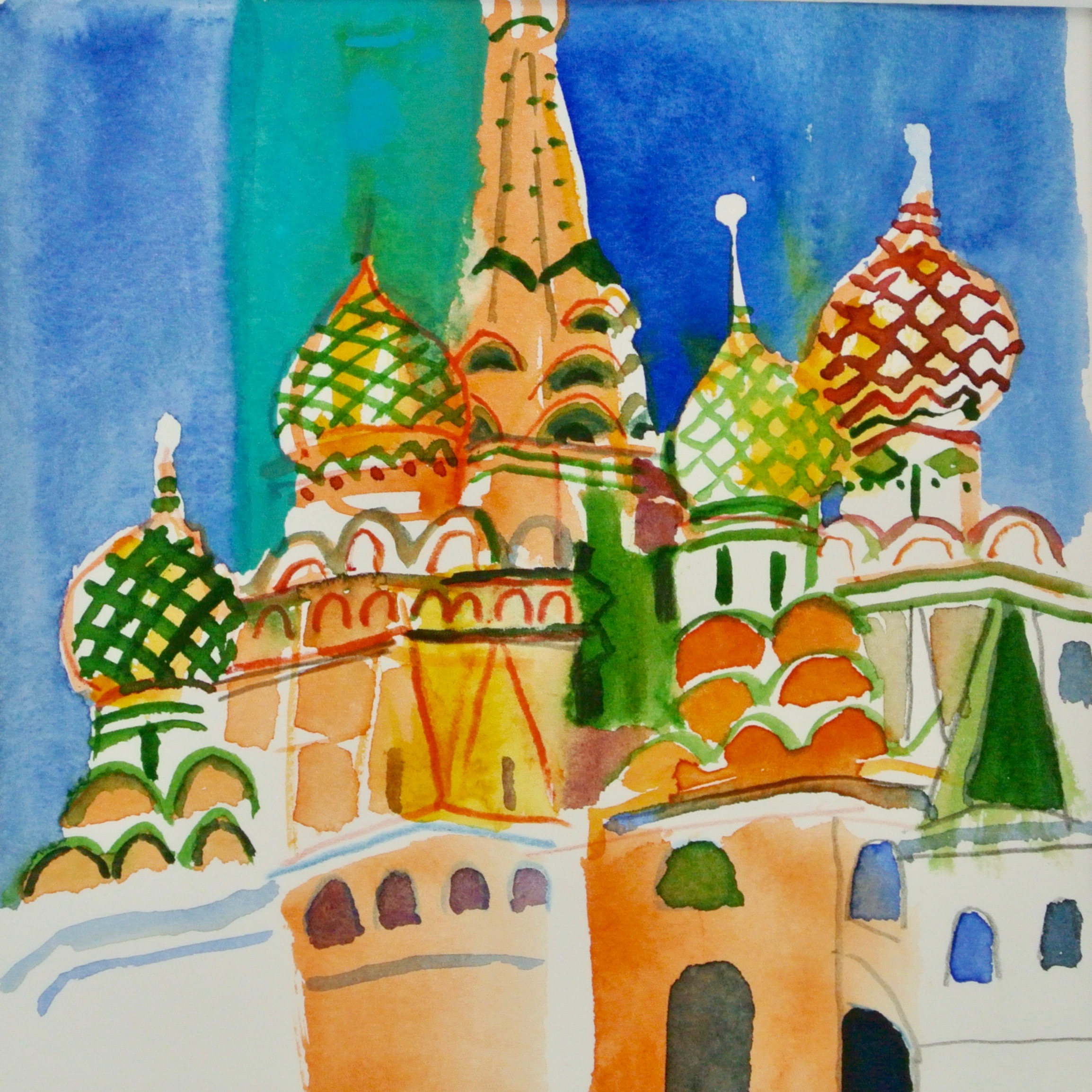 2018 Basilius Kathedrale Moskau
